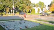 WTF: What's under the camo tarp in Burlington's New North End?