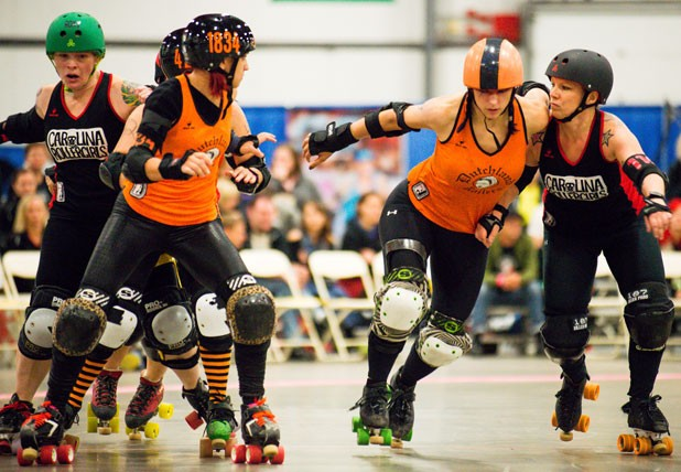 The Carolina Rollergirls vs. the Dutchland Derby Rollers - ANDY DUBACK