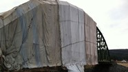 WTF: What's up with Richmond's sheet-enshrouded bridge and the Beltline's white foam blocks?