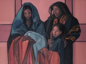 "COURTESY OF THE UNITED CHURCH OF CHRIST - ""The Child"" by Janet McKenzie"
