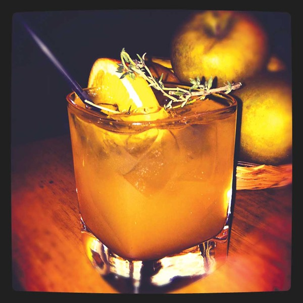 The Cider Slammer - COURTESY OF CORIN HIRSCH