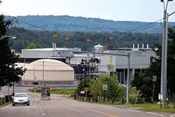 The entrance to IBM's Essex Junction plant. - MATTHEW THORSEN