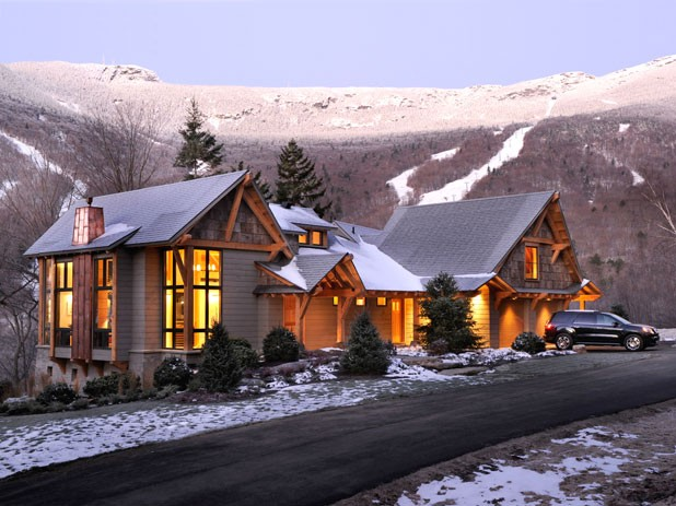 The HGTV Dream Home in Stowe, Vt.
