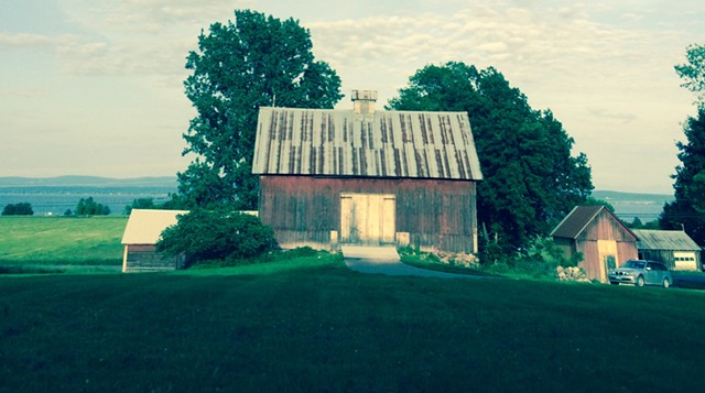 The Homer Knight Barn in North Hero will be gifted to Island Arts in a ceremony next Tuesday. - COURTESY OF KATYA WILCOX