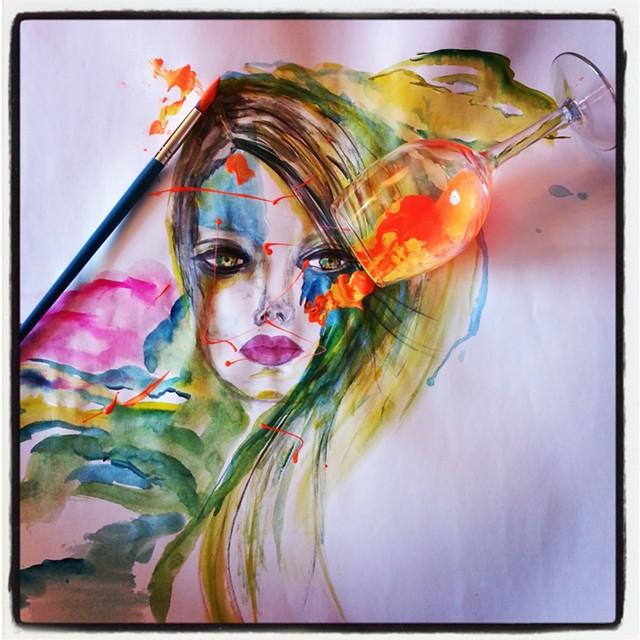 """""""The Human Canvas"""" by Kadina Dinash - COURTESY OF SARAH DREXLER"""