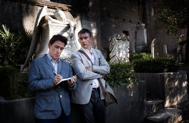 The Italian Job: Brydon and Coogan reteam for a culinary tour of the Mediterranean shoreline in Winterbottom's brilliantly original comedy.