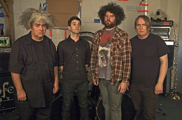 The mighty Melvins - COURTESY OF MACKIE OSBORNE