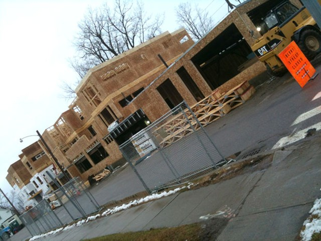 The Packard Lofts project as of December