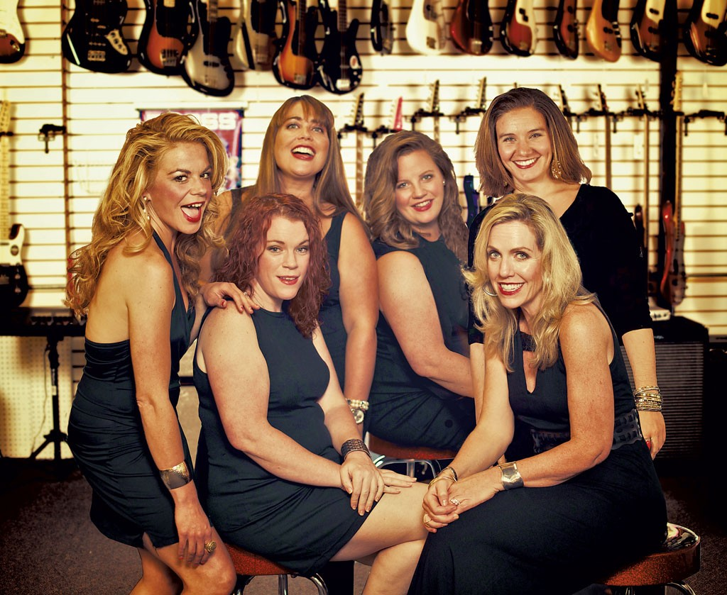 The Prima Donnettes cast - COURTESY OF GIRLS NITE OUT