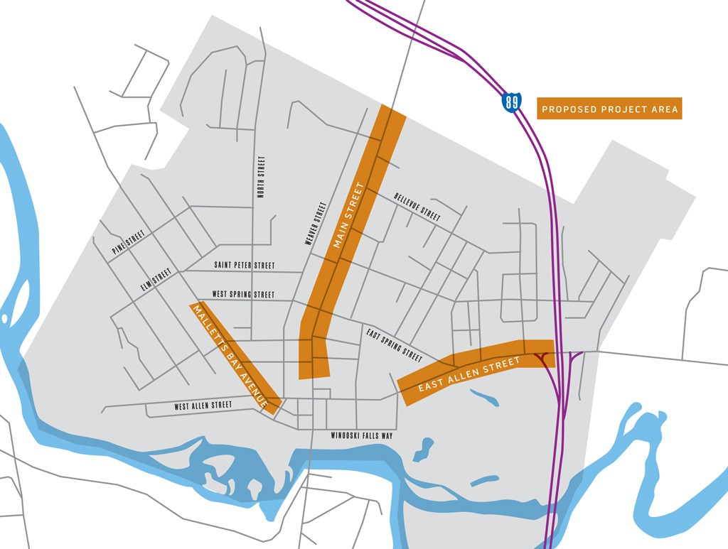 The proposed gateway corridors