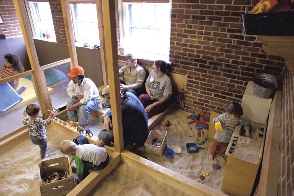 The sandbox at the VNA Family Room - FILE: MATTHEW THORSEN