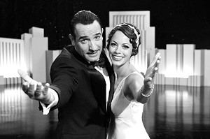 THE SILENT TREATMENT Dujardin and Bejo play stars on opposite trajectories in this love letter to old Hollywood.