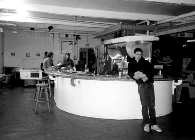 The snack bar - COURTESY OF JAMES LOCKRIDGE