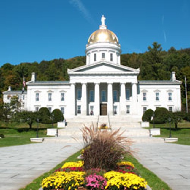 The Statehouse (not the governor's mansion)