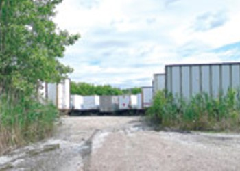 WTF: What's with that field full of trailers on Pine Street?