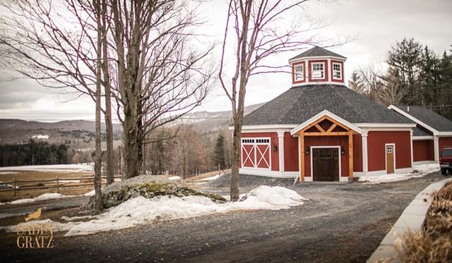The wedding barn - COURTESY OF THE INN AT GRACE FARM