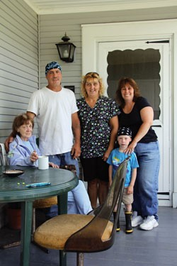 Mike Cyr and family. - MEGAN JAMES