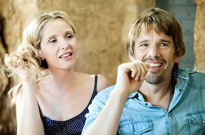THIS IS FORTY Delpy and Hawke haven't lost their goofiness in the third film in Linklater's talky trilogy.