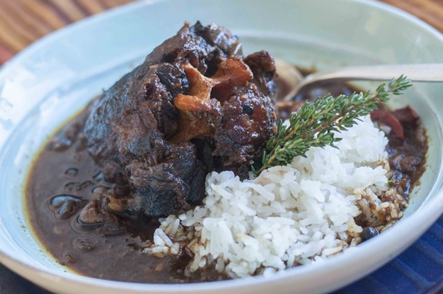 This Northern Oxtail stew is based on the Caribbean classic. - HANNAH PALMER EGAN