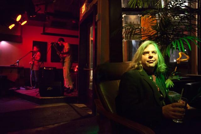 Tim Lewis with Vedora at the Monkey House - MATTHEW THORSEN