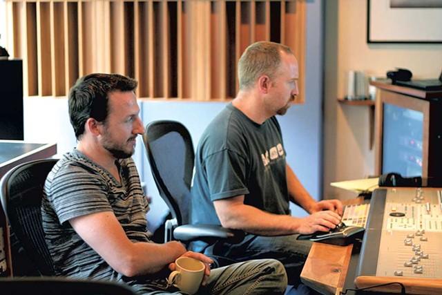 Todd Boston and Tom Eaton - COURTESY OF WILL ACKERMAN