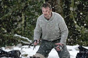 TRANCING WITH WOLVES Neeson gets in his tough-guy zone but does surprisingly little hitting in this survival thriller.