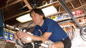 Triathlete Thomas Dunn