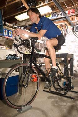 Triathlete Thomas Dunn - MATTHEW THORSEN
