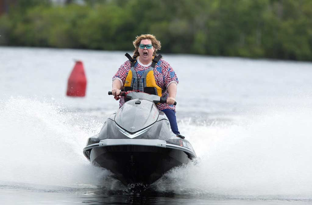 troubled water McCarthy's road-trip comedy starts off promisingly but runs out of gas fast.