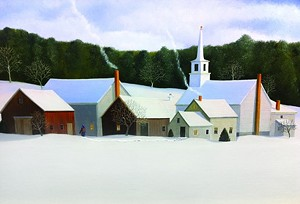 "COURTESY OF GREEN MOUNTAIN FINE ARTS - ""Tunbridge"" by Marieluise Hutchinson"