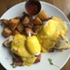 Alice Eats: Benedict Brunch at Bleu