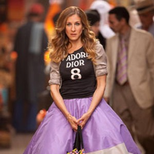 TUTU MUCH Carrie's self-parodic choice of souk wear suggests that the Sex and the City franchise has run its course.