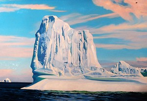 """Two Grounded Icebergs"""