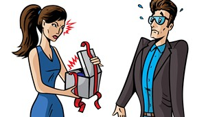 Scarlett Letters: My Wife Is Into Holiday Gifts But We Can't Afford It