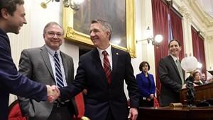 Charm Offensive: Team Scott Reaches Out to the Legislature