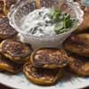 Farmers Market Kitchen: Winter Squash Blini With Cilantro Sour Cream