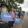 At Burlington Airport, Vermonters Welcome Sanders Home
