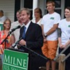 At Campaign Kickoff, Milne Calls Leahy Beholden to Special Interests