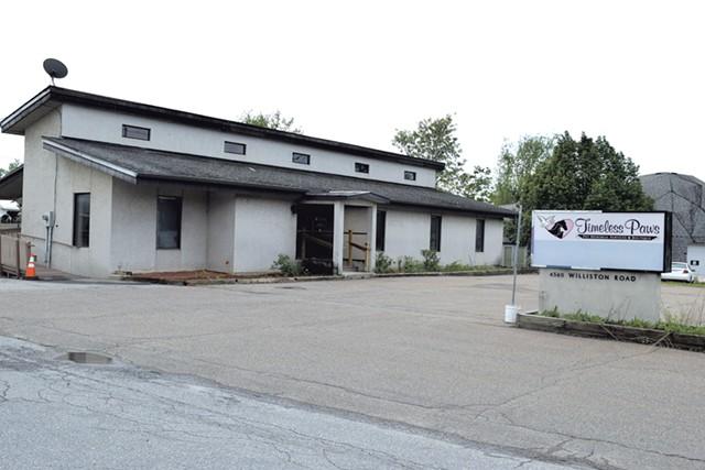 Proposed dispensary site in Williston - TERRI HALLENBECK