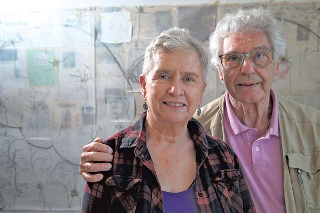 Meg and Peter Walker - MATTHEW THORSEN