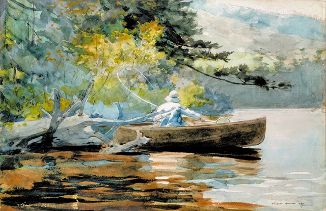 """A Good One,"" Winslow Homer - COURTESY OF THE HYDE COLLECTION"