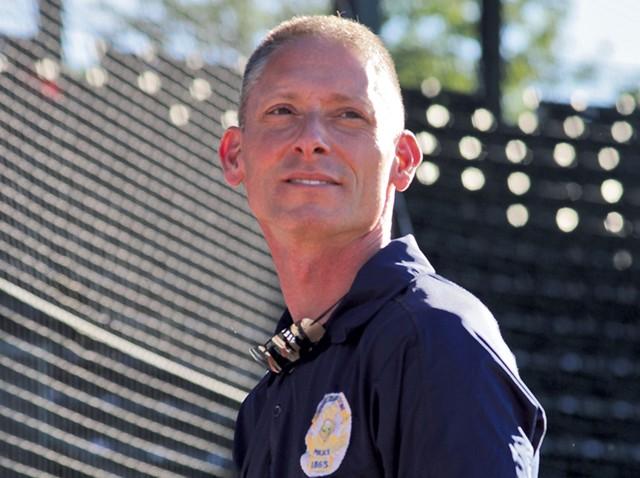 Burlington Police Chief Mike Schirling - MATTHEW THORSEN
