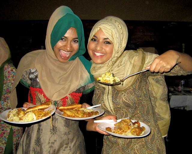 Rumana Rafeek and Reema Sameen - KYMELYA SARI