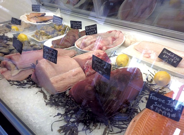Seafood at the Butchery