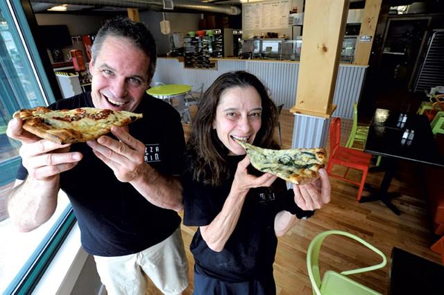 Michael Jansen and Marisa Menendez - JEB WALLACE-BRODEUR