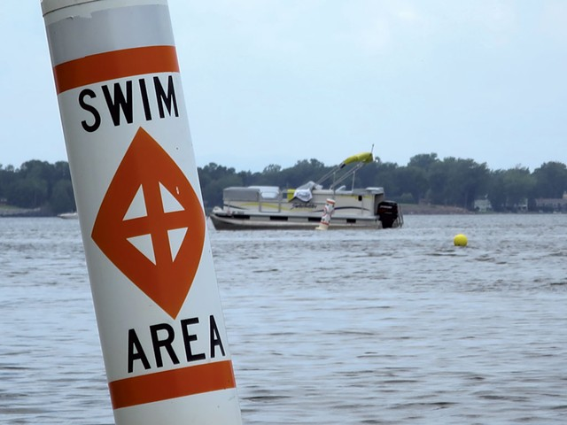 A buoy off the property - MATTHEW THORSEN