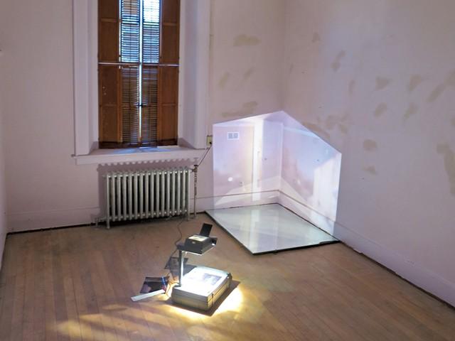 Installation by Mary Zompetti - MATTHEW THORSEN