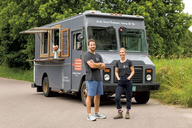 Farmers & Foragers food truck - OLIVER PARINI