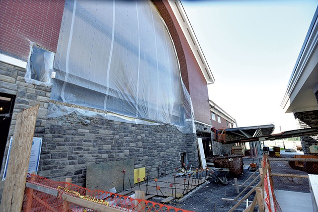 Construction at Plattsburgh International Airport - ROB FOUNTAIN