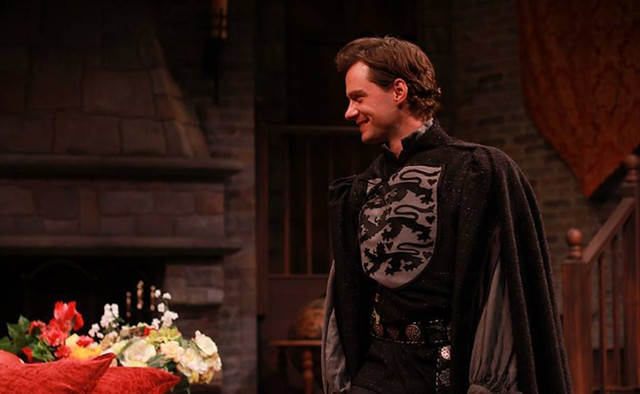 J.D. Taylor as Andrew - COURTESY OF DORSET THEATRE FESTIVAL